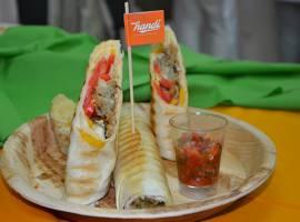 Falafel Tortilla Wrap